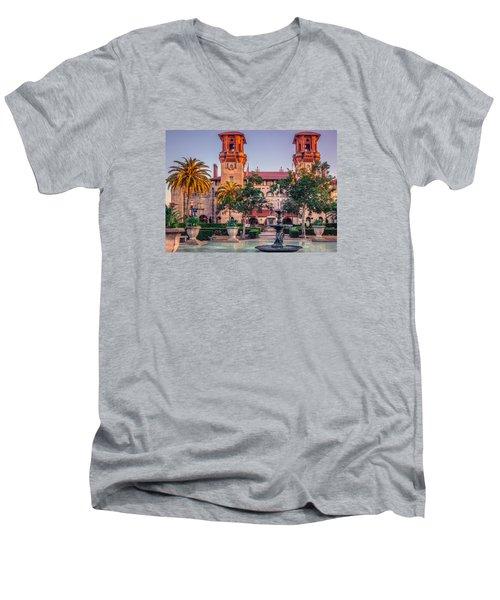 Lightener Museum Men's V-Neck T-Shirt by Rob Sellers