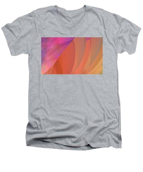 Lighthearted Men's V-Neck T-Shirt by Judi Suni Hall