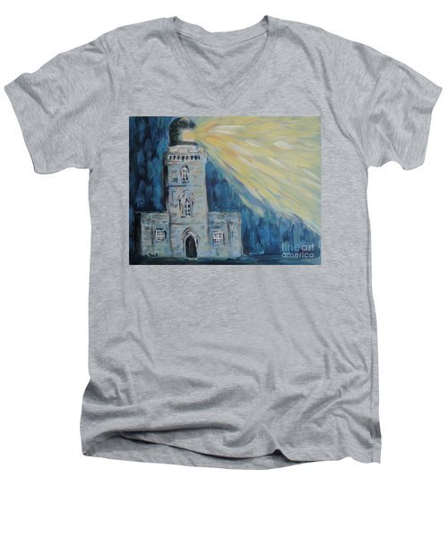 Lighthouse Men's V-Neck T-Shirt