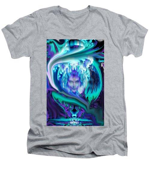 Lightning In A Jar Men's V-Neck T-Shirt