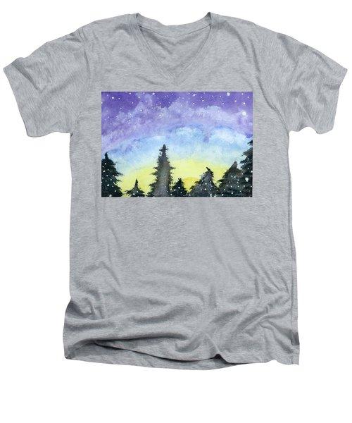 Lights Of Life Men's V-Neck T-Shirt