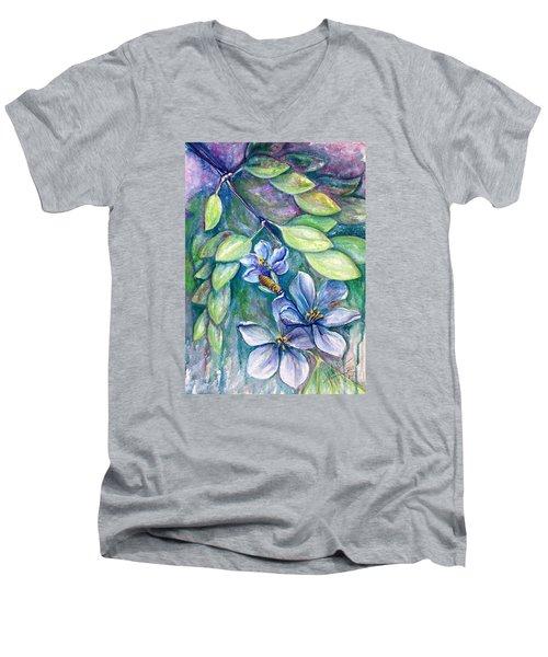 Lignum Vitae Men's V-Neck T-Shirt