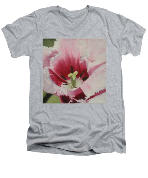 Lilicaea Tulipa Men's V-Neck T-Shirt
