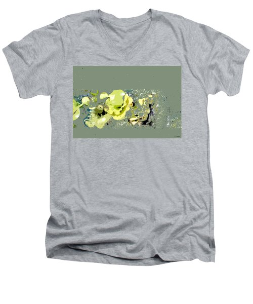 Lily Pads - Deconstructed Men's V-Neck T-Shirt