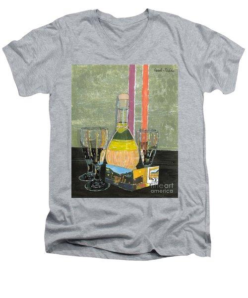 Limoncello In Cinque Terra Men's V-Neck T-Shirt