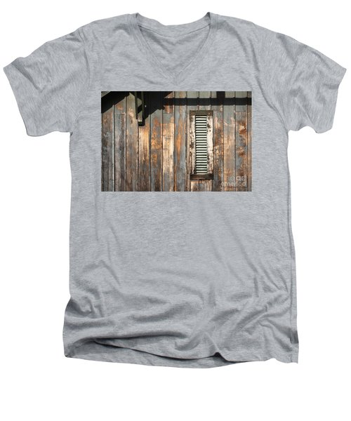 Lines And Designs Men's V-Neck T-Shirt