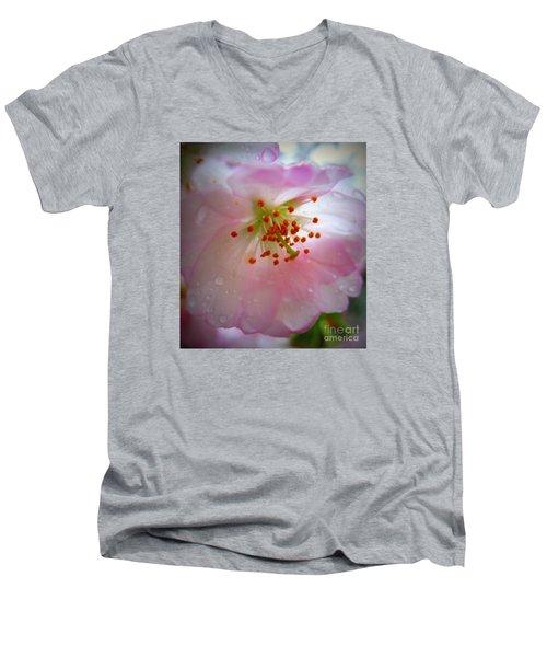 Liquid Sunshine Men's V-Neck T-Shirt by Patti Whitten