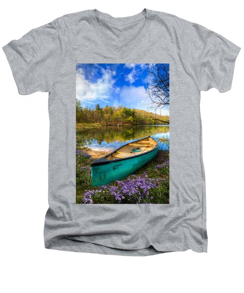 Little Bit Of Heaven Men's V-Neck T-Shirt