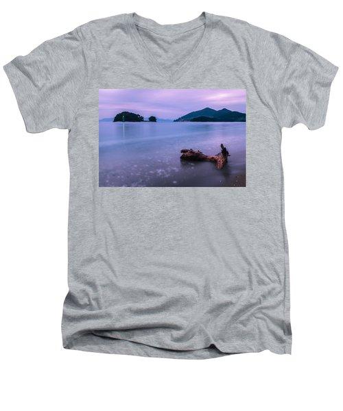 Little Corner By The Sea Men's V-Neck T-Shirt