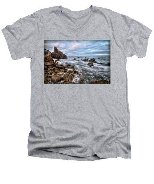 Little Corona Del Mar Men's V-Neck T-Shirt