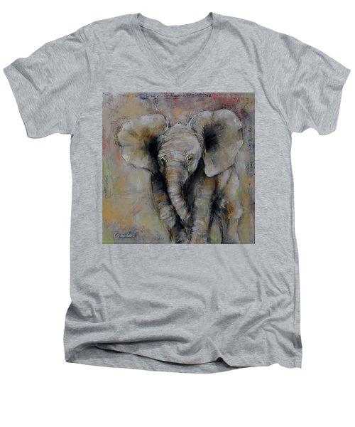 Little Giant Men's V-Neck T-Shirt