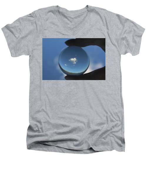 Little Heart Cloud Men's V-Neck T-Shirt