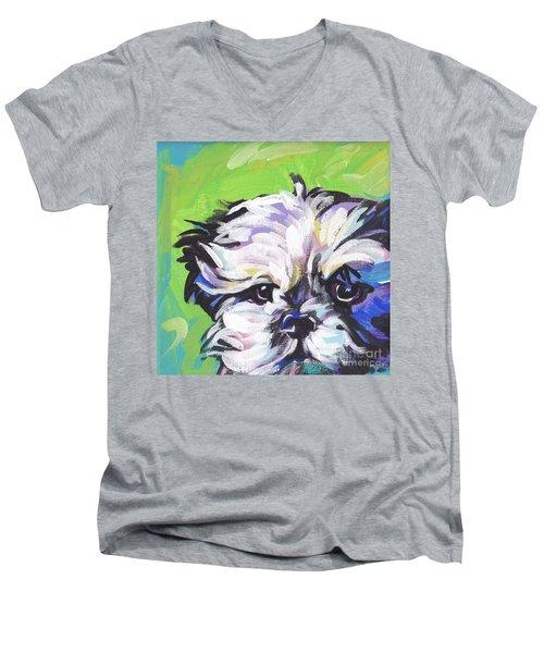 Little Shitz Men's V-Neck T-Shirt