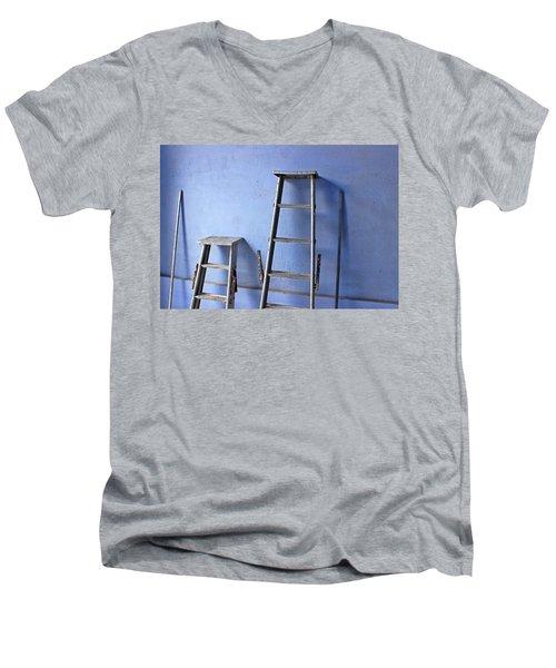 Little Steps Men's V-Neck T-Shirt