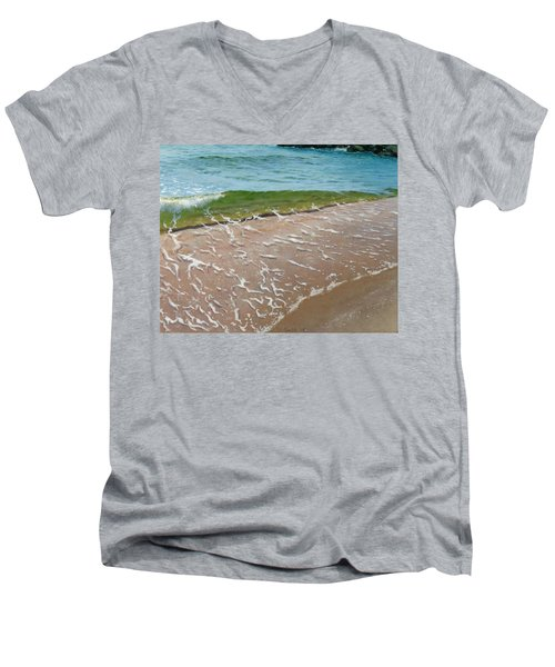 Little Wave Men's V-Neck T-Shirt