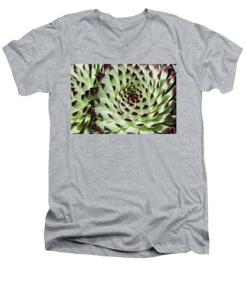 Live-for-ever Men's V-Neck T-Shirt by Lana Enderle
