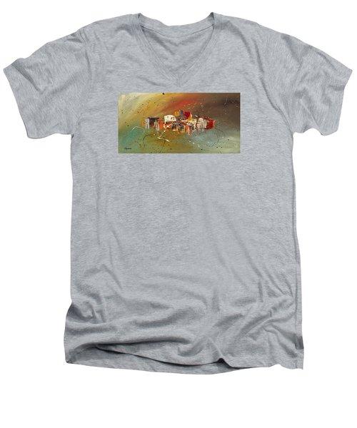 Live Well Men's V-Neck T-Shirt
