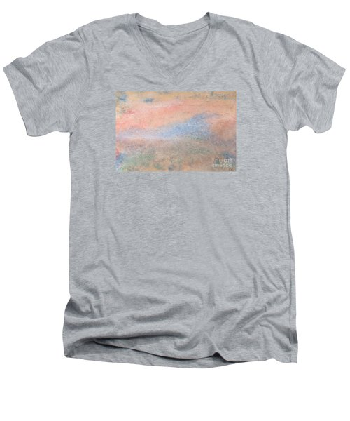 Living Dream Men's V-Neck T-Shirt by Susan  Dimitrakopoulos