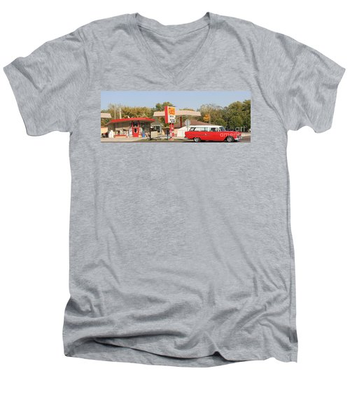 Living In The Fifties Men's V-Neck T-Shirt