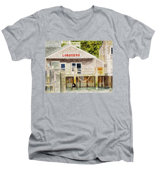 Lobster Shack Men's V-Neck T-Shirt