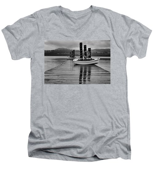 Loch Lomond Men's V-Neck T-Shirt
