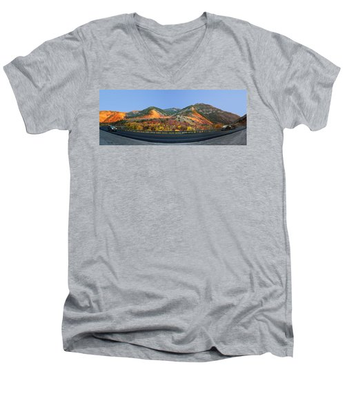 Logan Canyon Men's V-Neck T-Shirt