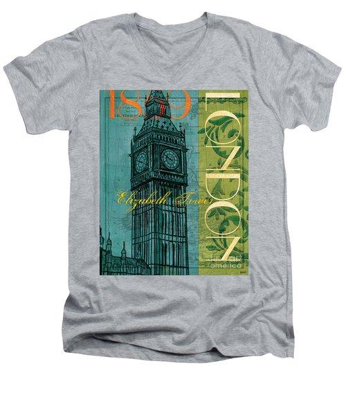London 1859 Men's V-Neck T-Shirt