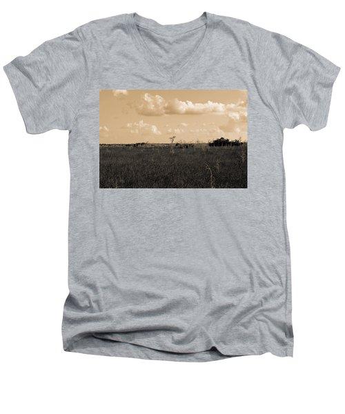 Lone Cypress Men's V-Neck T-Shirt