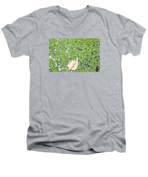 Lone Leaf Men's V-Neck T-Shirt