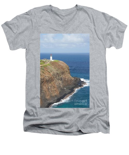 Lone Sentry Men's V-Neck T-Shirt