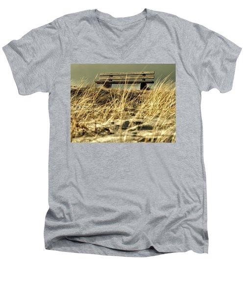 Lonely Bench Men's V-Neck T-Shirt