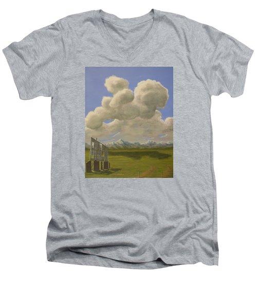 Long Intermission Men's V-Neck T-Shirt