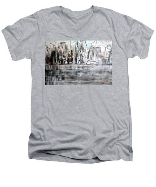 Long Island Pov 2 Men's V-Neck T-Shirt