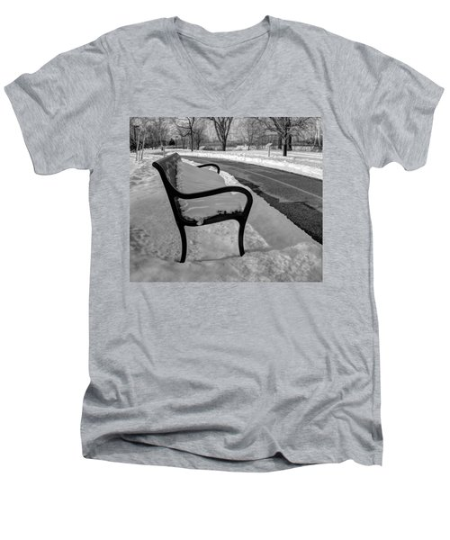 Longing For Spring Men's V-Neck T-Shirt