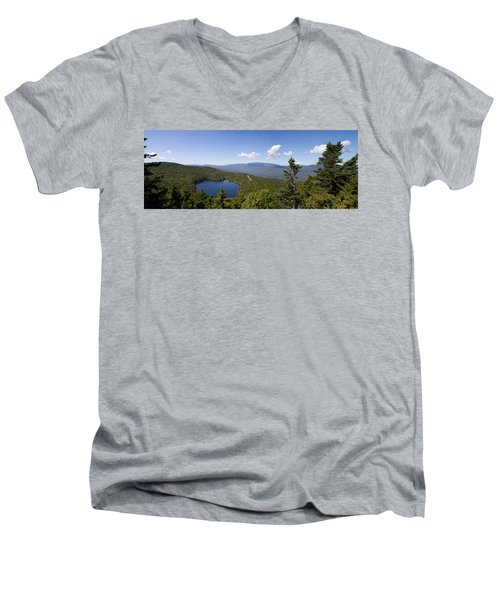 Loon Mountain Men's V-Neck T-Shirt