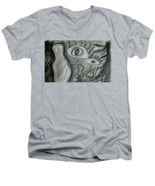 Lost In Chaos Men's V-Neck T-Shirt