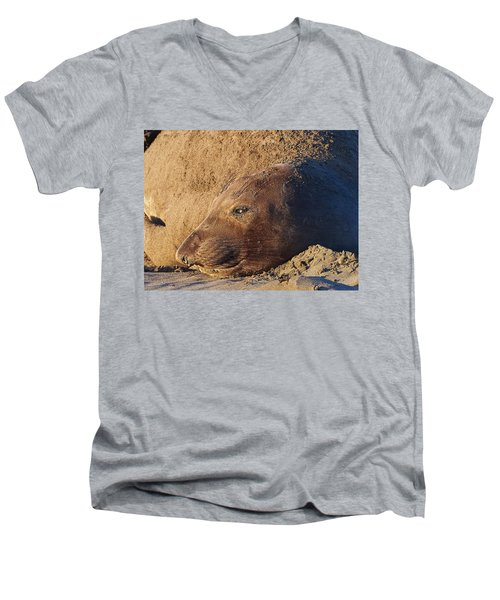 Lost In Thought Men's V-Neck T-Shirt