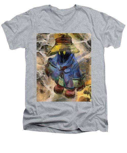 Lost Mage Men's V-Neck T-Shirt