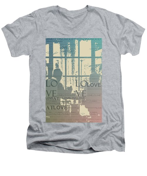 Love At Longwood Men's V-Neck T-Shirt