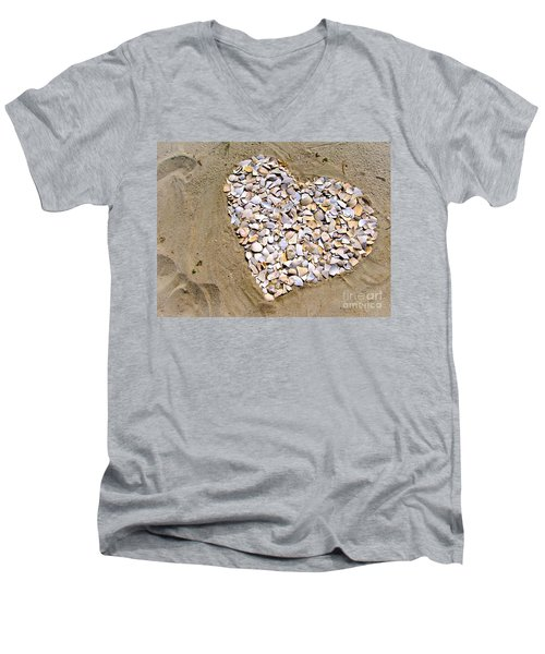 Love At The Jersey Shore Men's V-Neck T-Shirt