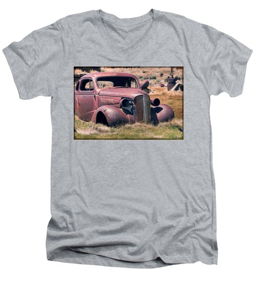 Men's V-Neck T-Shirt featuring the photograph Low Rider by Steven Bateson