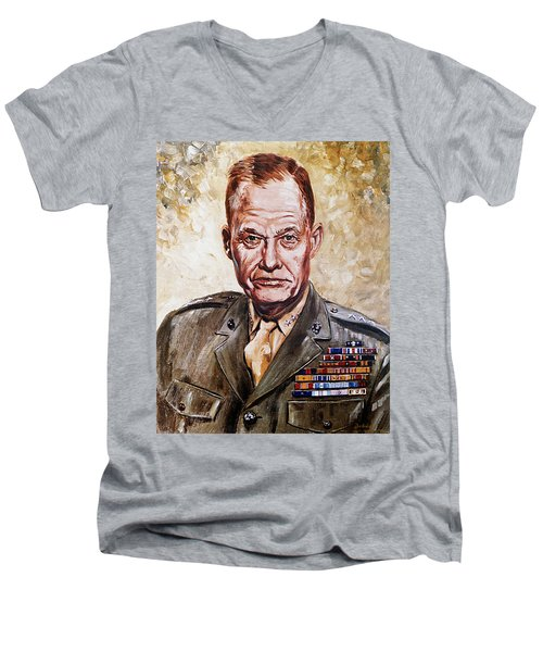 Lt Gen Lewis Puller Men's V-Neck T-Shirt
