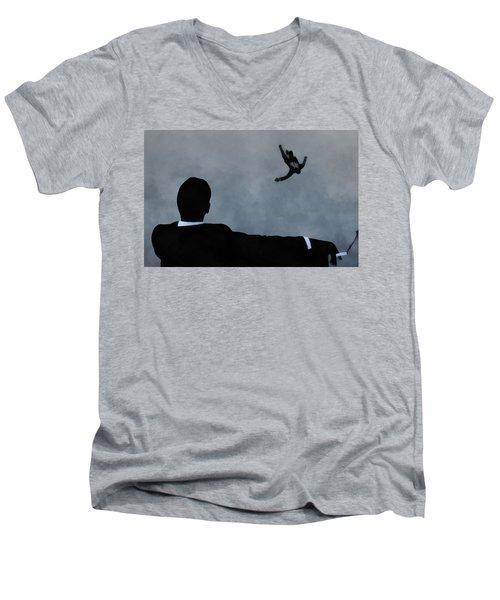 Mad Men Art Men's V-Neck T-Shirt