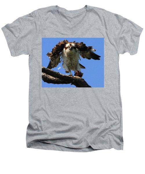 Mad Osprey Men's V-Neck T-Shirt
