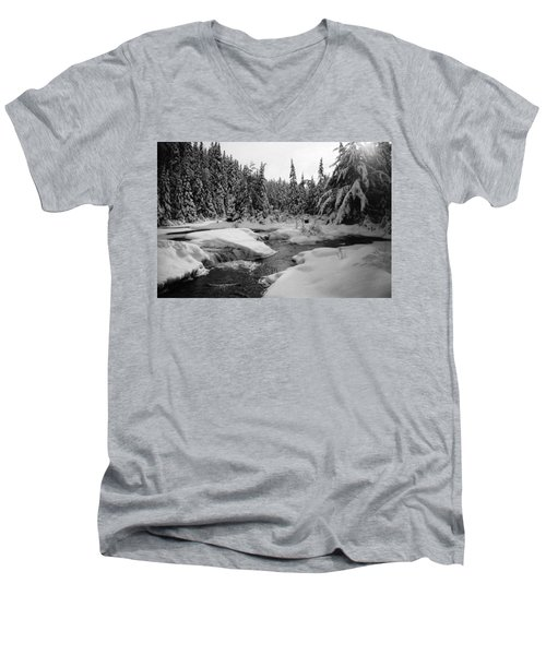 Madawaska River Men's V-Neck T-Shirt