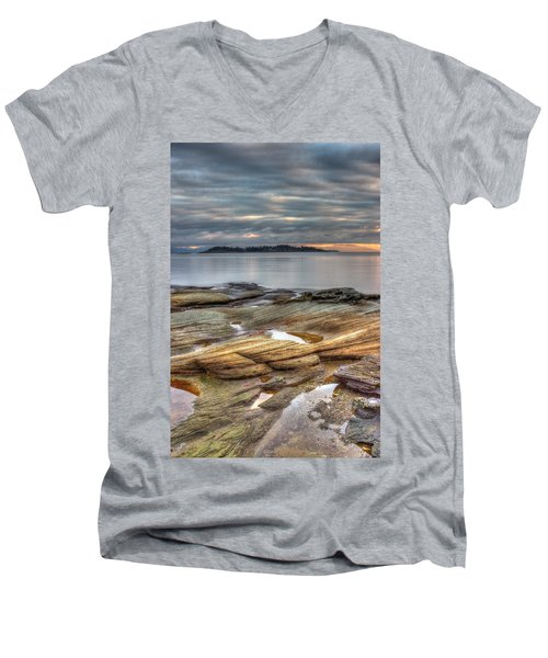 Madrona Sunrise Men's V-Neck T-Shirt