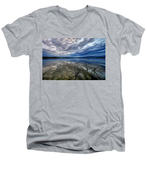 Magical Lake Men's V-Neck T-Shirt