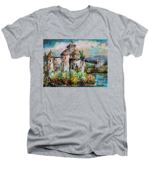 Magical Palace Men's V-Neck T-Shirt