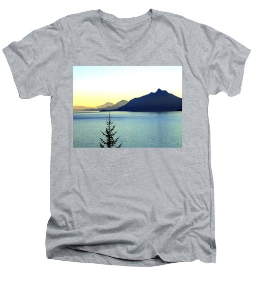Magnificent Howe Sound Men's V-Neck T-Shirt