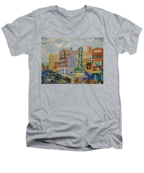 Main Street Men's V-Neck T-Shirt